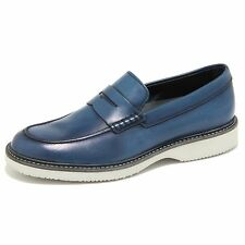 0267N mocassini HOGAN scarpe uomo loafer shoes men blu