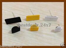 New OEM Micro SD + SIM Card + USB Port Dustproof Cover Set for Sony Xperia Go