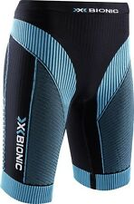 X-BIONIC Running EffeKtor Power-Pants-Short-WOMEN - Black-Turquoise