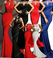 New Sexy Wedding Bridesmaid Prom Fishtail Mermaid Prom  Ball Gown 8,10,12,14,16