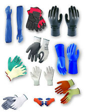 Range of Protective Safety Gloves - PU, Nitrile Coated, Rigger, Thermo, Rubber