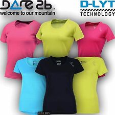 Dare2b T Shirt Active Wear Bloombreak Tee Outdoor Gym Sport Running Cycling Top