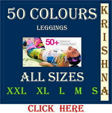 50 COLOURS LEGGINGS AVAILABLE CLICK HERE ALL SIZES ( XXL : XL : L : M : S )