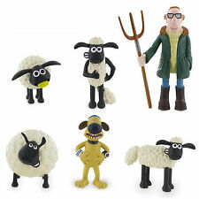Comansi Shaun The Sheep Toy Figures Great For Cake Decorating Toppers Official