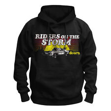 THE DOORS - RIDERS ON THE STORM - OFFICIAL MENS HOODIE