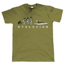 Evolution of Canoa Kayak T-Shirt Da Uomo