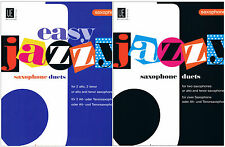 Jazzy Duets / Easy Jazzy Duets Saxophone - James Rae for Alto/Tenor Sax or Mix