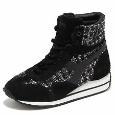 6112N sneakers donna DIADORA HERITAGE nero/bianco sneakers shoes woman