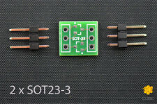 ClosedCube SMD 2xSOT23-3/SOT23-6 Double-Side Printed Circuit Prototype PCB