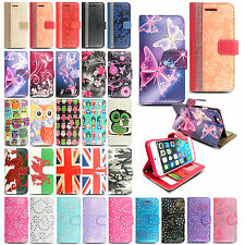 Luxury Magnetic Flip Cover Stand Wallet Leather Case For Apple iPhone
