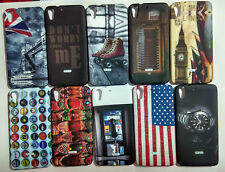 Printed Soft Silicon Back Case Cover For Htc Desire 728