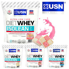 USN Diet Whey Isolean Low Carb Whey Protein Isolate 454g/1kg