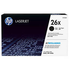 GENUINE HP CF226X / 26X HIGH CAPACITY BLACK LASER PRINTER TONER CARTRIDGE