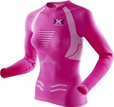 X-Bionic Running Speed THE TRICK Shirt Long SL Lady Pink-White