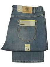 "MENS BIG KING SIZE KAM JEANS STRAIGHT LEG IN MID BLUE COLOUR ALL SIZES 40""T0 60"""
