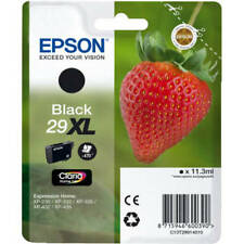EPSON 29XL (STRAWBERRY) BLACK HIGH CAPACITY INK CARTRIDGE (C13T29914010)