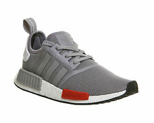 ADIDAS ORIGINALS NMD RUNNER LIGHT ONIX/GREY/ WHITE & RED IN VARIOUS SIZES