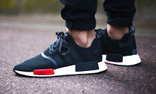 EXCLUSIVE ADIDAS NMD BLACK/ WHITE/ RED IN VARIOUS SIZES