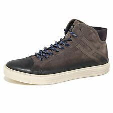 8533N sneaker HOGAN REBEL R 206 grigio scarpe uomo shoes men