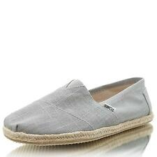 Toms 10008381 M Linen Rope Sole grey