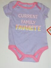 Current Family Favorite Girl Outfit NEW Infant Clothes Creeper Girl 0 3 6 M