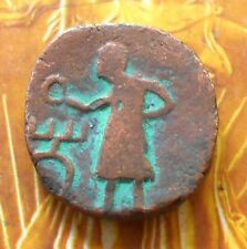 KUSHANA KUSHAN Beautiful Copper Coin - Ancient india - jc102