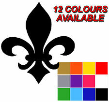FLEUR DE LYS Stickers x 25 Fleur De Lys Decal. Wall Tile Stickers. Self Adhesive
