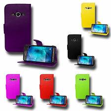 Premium Magnetic Wallet Flip Leather PU Case Cover For Samsung Galaxy Xcover 3