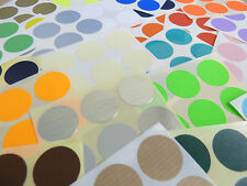 25mm Round Colour Code Stickers - Packs of 30 Coloured Circular Sticky Labels