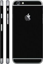 Black Matte Finish skins for Apple iphone 5 / 5s / 6 / 6s / 6+ / 6s +