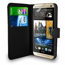 HTC DESIRE 820 - Leather Book Wallet Flip Case Cover + Free Screen Guard