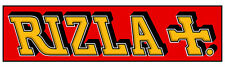 Rizla Red, Iron On Transfer For Dark or Light Fabrics, A4, A5, A6.