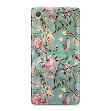 Peacocks Camouflage Camouflage Blue Green Sitting in Tree Phone Case Cover