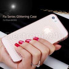 ROCK Brand Fla Series Soft Luxury TPU Protective Case for Apple iPhone SE 5S 5