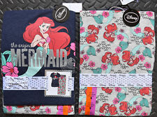Primark Little Mermaid PJ Disney Ariel Set Women's Ladies Pyjamas BNWT UK 6 - 20