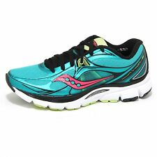 0672O sneakers donna SAUCONY MIRAGE 5 verde/corallo shoes woman
