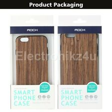 ROCK Brand Origin Series Wood Grain+TPU Luxary Case For Apple IPhone 6/6S