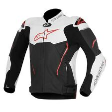 Alpinestars 2016 Atem Kangaroo Leather Jacket Black/White/Red