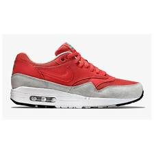 Nike Air Max 1 Essential Trainers - Red-Mens