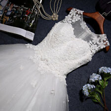 2016 New White/ivory Wedding dress Bridal Gown custom size 6-8-10-12-14-16 18+++