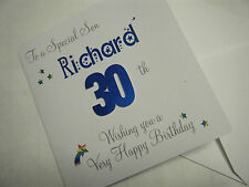 Son Daughter ANY AGE Personalised Birthday Card + envelope