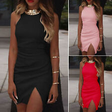 Women Sexy Celeb Playsuit Sleeveless Party Evening Summer Ladies Bodycon Dress