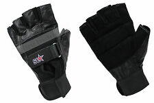 Brand New Black Half Finger Cycling / Bicycle / Gym Fingerless Gloves S, M, L,XL