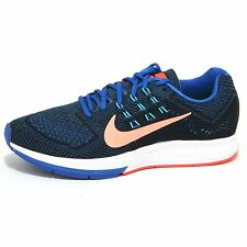 1560O sneakers uomo NIKE AIR ZOOM STRUCTURE nero/blu/rosa shoes men