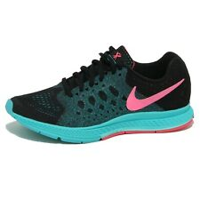 1250O sneaker NIKE WMNS ZOOM PEGASUS 31 nero scarpe donna shoes woman