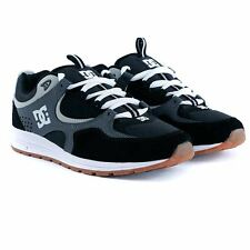 Dc Shoes Kalis Lite Black Grey Pro Skate Shoes Trainers New Free Delivery