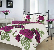Plum Flower Isabella Duvet Cover Bedding Set Single Double King And Super King
