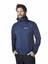 Berghaus Stormcloud Uomo Giacca impermeabile 21191/R14 Dusk/Dusk NUOVO
