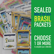 PANINI different sealed packets WORLD CUP 2014 BRASIL WC 14   choose your packet