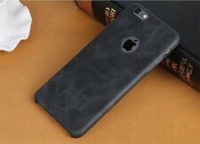 mStick Crust Series PU Leather Back Cover Case For Apple iPhone 5 / 5S / SE
